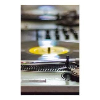 Turntable Record Vinyl Music Sound Retro Vintage Stationery