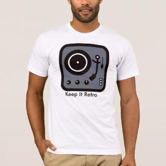 Turntable /recordplayer Keep It Retro T-Shirt