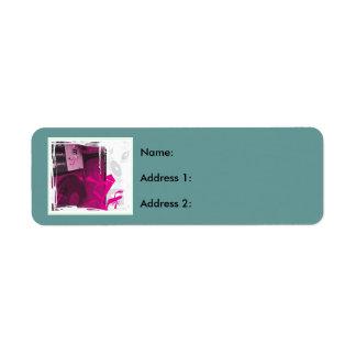 Turntable Return Address Label