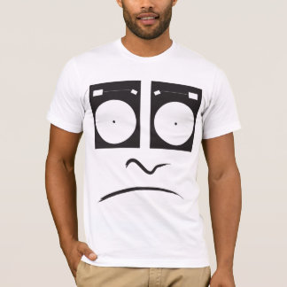 Turntable Sad Face_1 T-Shirt