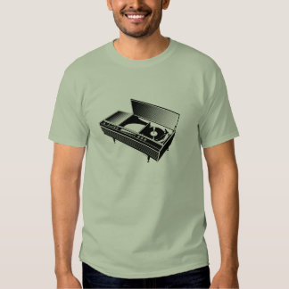 Turntable T Shirt. T Shirt