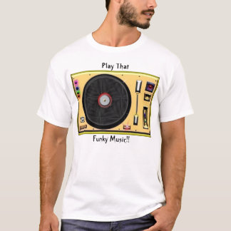 """Turntable """"T"""" T-Shirt"""