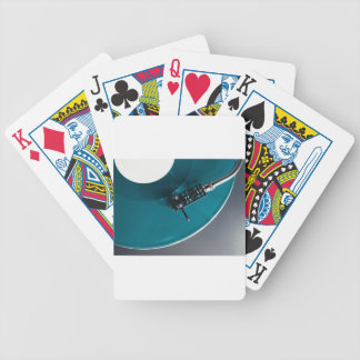 Turntable Vinyl Record Album Music Bicycle Playing Cards