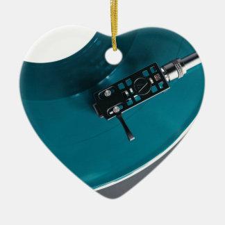 Turntable Vinyl Record Album Music Ceramic Ornament