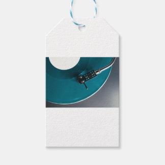Turntable Vinyl Record Album Music Gift Tags