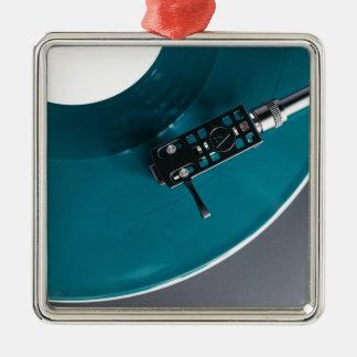 Turntable Vinyl Record Album Music Metal Ornament