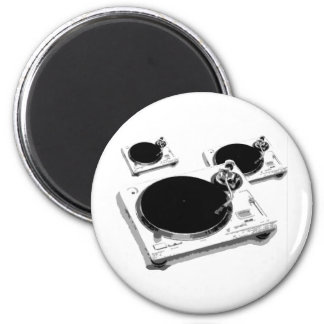 turntables 2 inch round magnet
