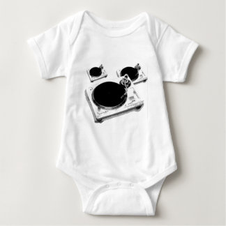 turntables baby bodysuit