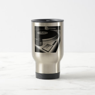 turntables travel mug