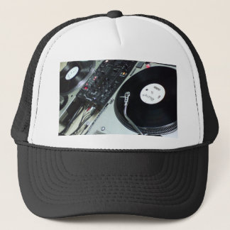 Turntables Trucker Hat