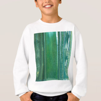 Turquoise and Blue Reflections in the Glass Sweatshirt