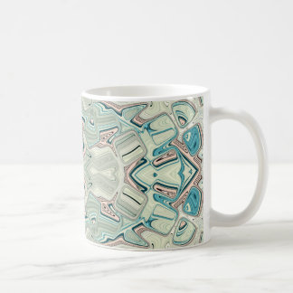 Turquoise And Copper Blend Coffee Mug