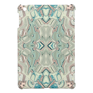 Turquoise And Copper Blend iPad Mini Cover