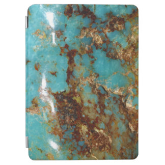 Turquoise and gold iPad air cover