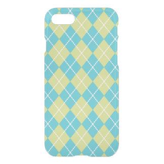 Turquoise Argyle iPhone 7 Case