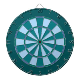 Turquoise Blue Dart Boards