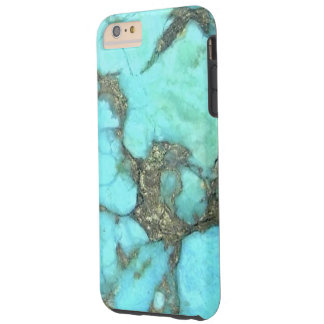 """Turquoise Blue Phone Case"" Tough iPhone 6 Plus Case"