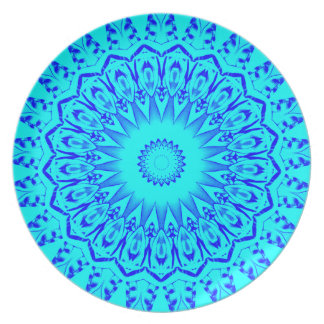 Turquoise Blue Plate