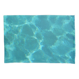 Turquoise Blue Water Pillowcase