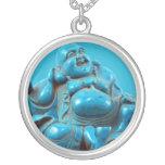 Turquoise Buddha Vintage Costume Jewellery Charm Jewelry