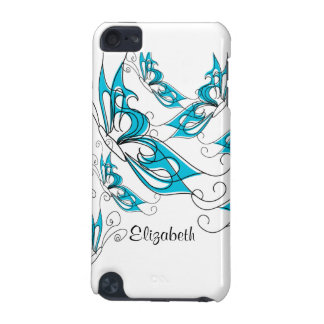 Turquoise Butterfly IPod Touch Case Trendy