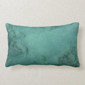 Turquoise Caribbean Tropical Sea Lumbar Pillow