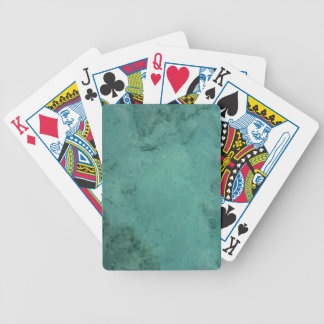 Turquoise Caribbean Tropical Sea Poker Deck