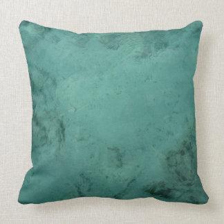 Turquoise Caribbean Tropical Sea Throw Pillow