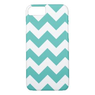 Turquoise Chevron Zigzag iPhone 7 Case