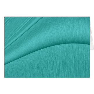 Turquoise Contour Card