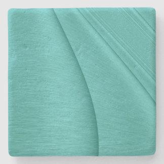 Turquoise Contour Stone Coaster
