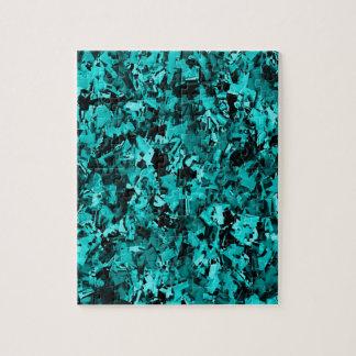 Turquoise Craze... Jigsaw Puzzle