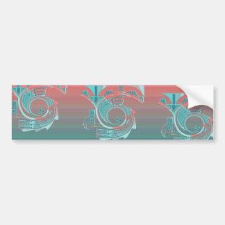 Turquoise Dawn Bumper Sticker
