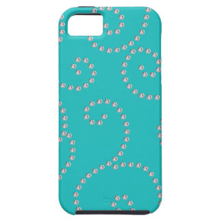 turquoise diamond swirls case for the iPhone 5