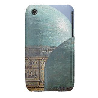 Turquoise domes, Shahr i Zindah mausoleum iPhone 3 Cover