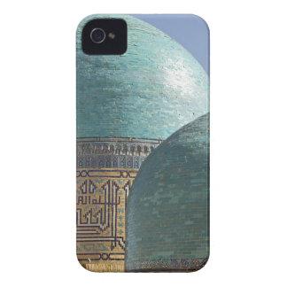 Turquoise domes, Shahr i Zindah mausoleum, iPhone 4 Covers