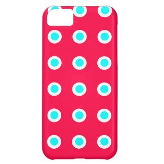 Turquoise Dots iPhone 5C Covers