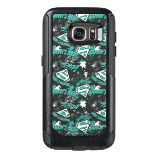 Turquoise - Earth's Hero OtterBox Samsung Galaxy S7 Case