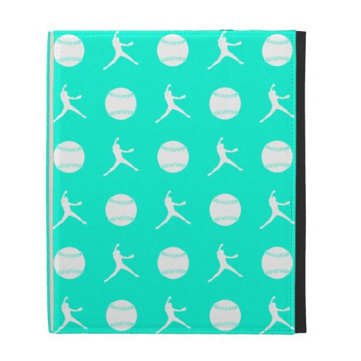 Turquoise Fastpitch iPad Folio Case