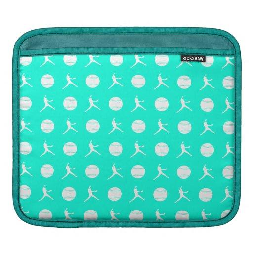 Turquoise Fastpitch iPad Sleeve