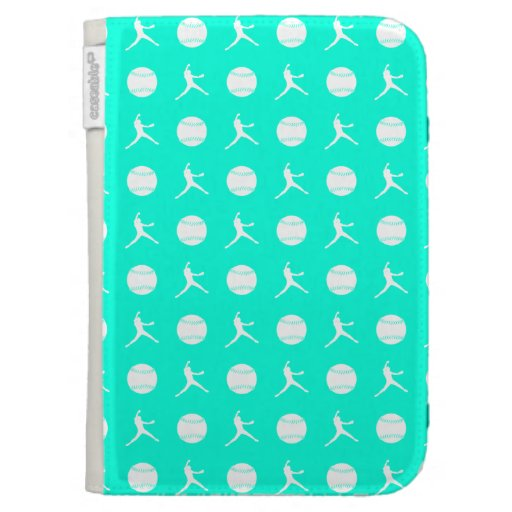 Turquoise Fastpitch Kindle Case
