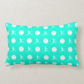 Turquoise Fastpitch Pillow