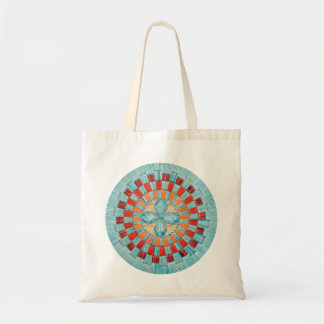 Turquoise Flower Bag
