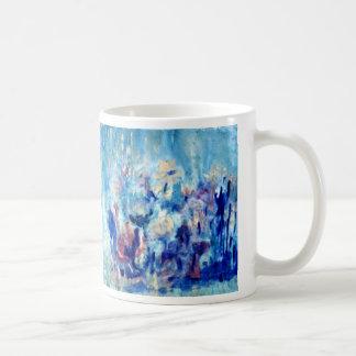 Turquoise Garden Coffee Mug