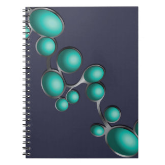 Turquoise garment notebook