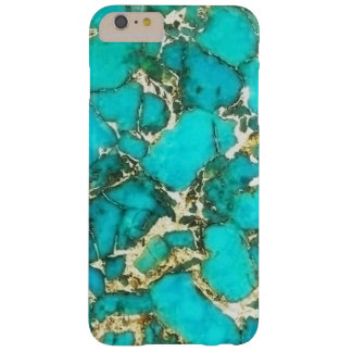 Turquoise Gemstone with Pyrite Matrix Barely There iPhone 6 Plus Case