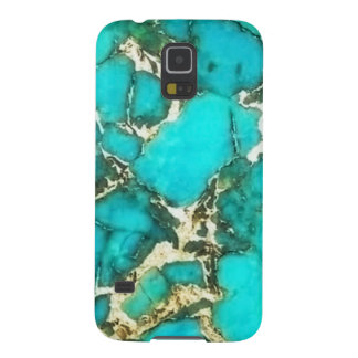 Turquoise Gemstone with Pyrite Matrix Cases For Galaxy S5