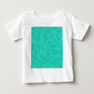 Turquoise Green-Blue Marbleized Baby T-Shirt