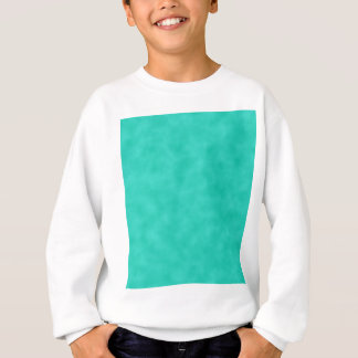 Turquoise Green-Blue Marbleized Sweatshirt