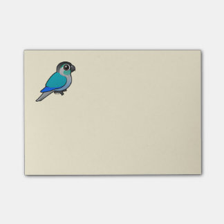 Turquoise Green-cheeked Conure Post-it Notes